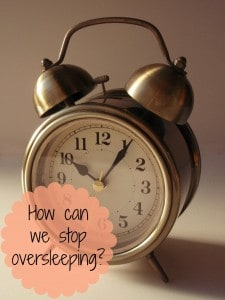 Alarm clock - top oversleeping