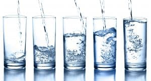 heavy glass of water