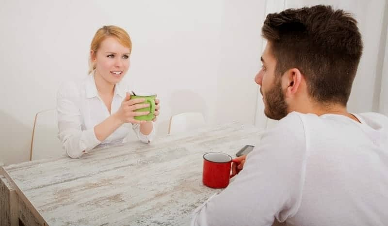 guy and girl talking - improve your communication