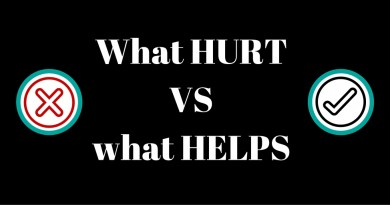 what hurts vs what helps when you talking with someone with mental health disorder