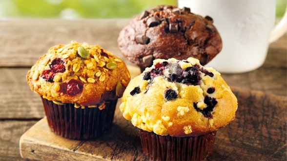 Top 3 healthy delicious muffin recipes