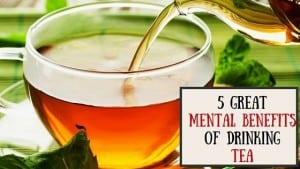 5 benefits of drinking tea