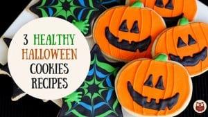 healthy Halloween cookies recipes