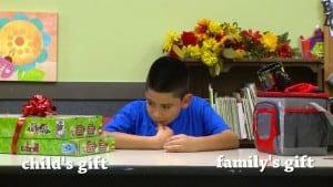 Christmas gift kids decision