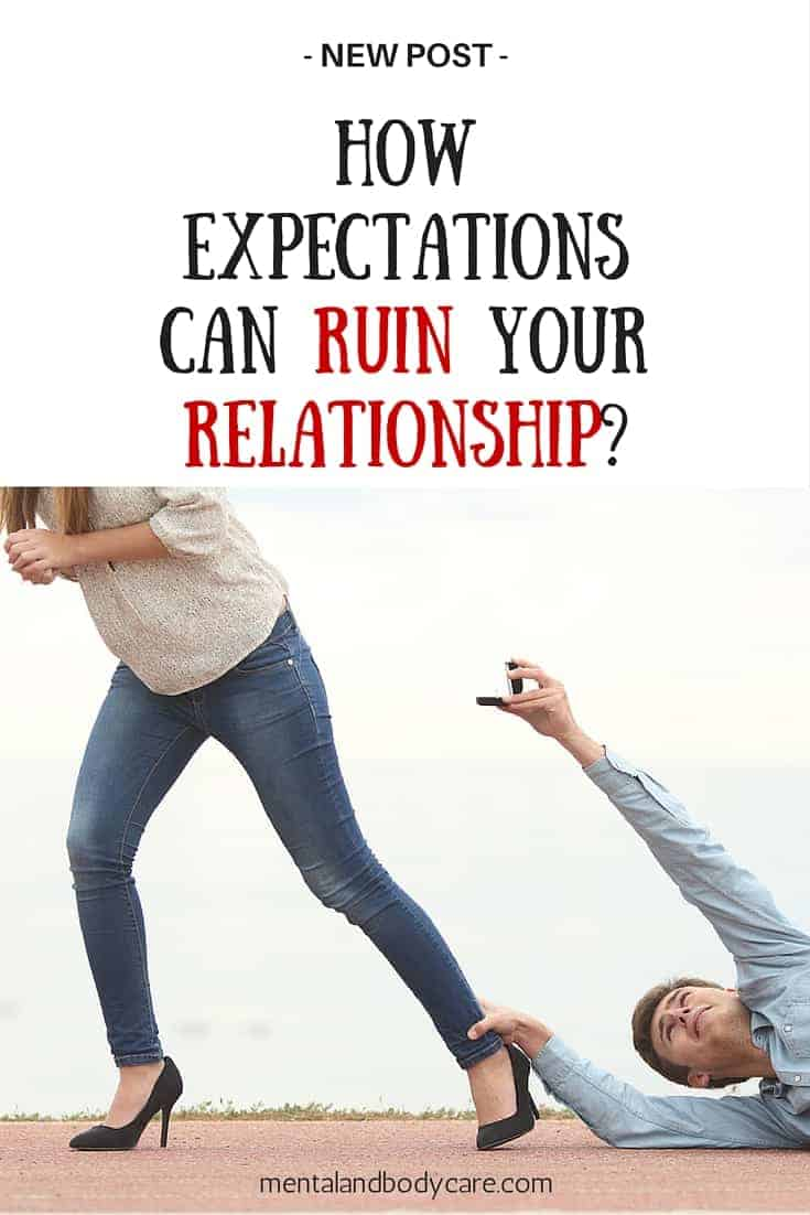how to let go of expectations in a relationship