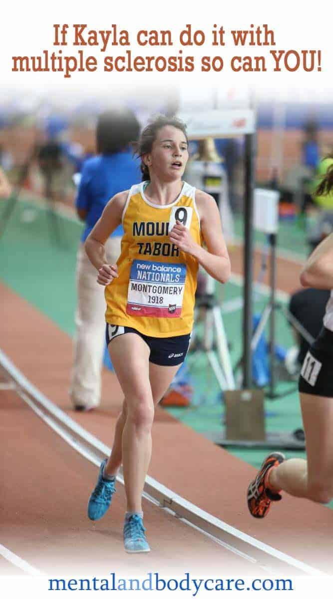 kayla multiple sclerosis running star