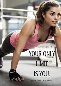 your only limit is you - work out motivation