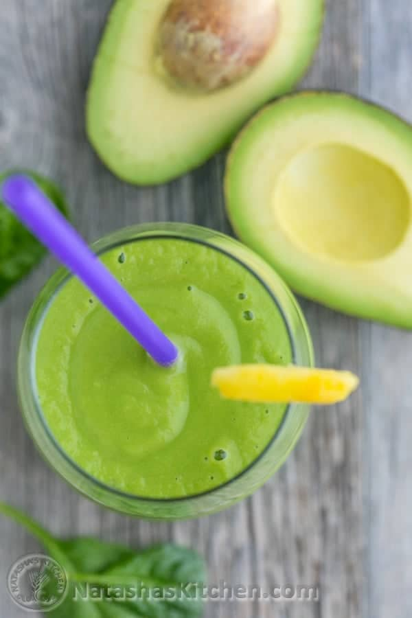green avocado smoothie recipes