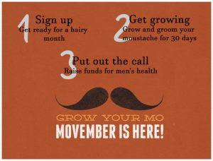 Grow your Mo - Movember