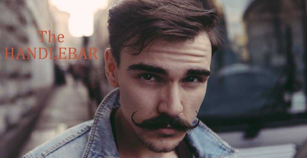 Grow a mustache - the handlebar