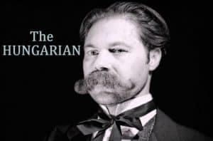 the hungarian - grow a mustache