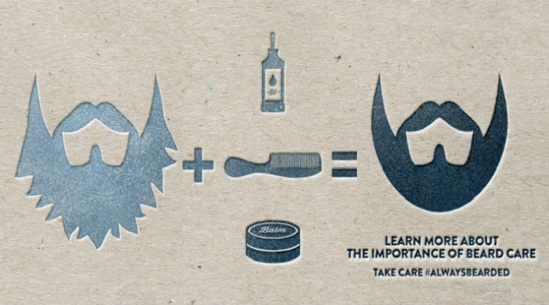 beard care tips card