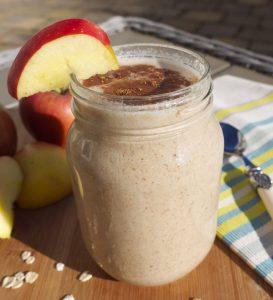 apple and grains shake